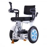 Gyropode handicapé assis